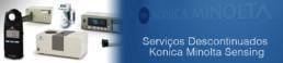 Serviços Descontinuados Konica Minolta Sensing