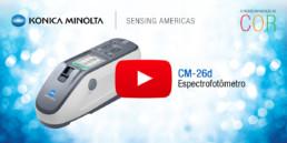 Espectrofotômetro CM-26d