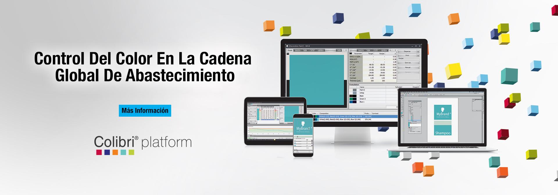 Software de igualación y control de calidad del color Colibri®