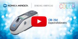 Espectrofotómetro CM-26d