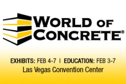World of Concrete® 2020