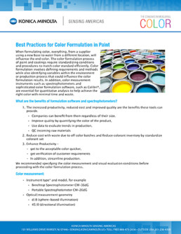 Best Practices for Color Formulation in Paint