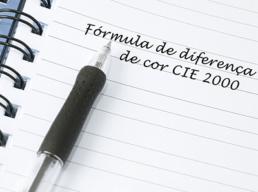 Formula de Diferença de Cor CIE 2000