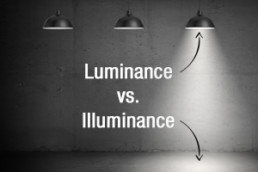 Luminance vs. Illuminance