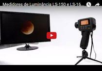 Medidor de Luminância LS-160