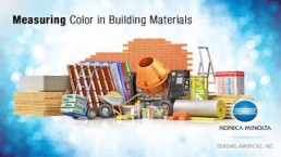 Measuring Color in Building Materials