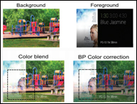 Color Correction For See-Through Displays