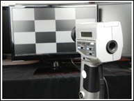 LS-100 Luminance Meter Testing Monitors for the Israeli Government