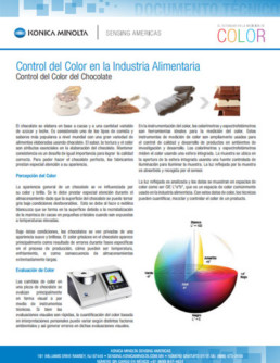 Control de Color en la Industria Alimenticia: Control del Color del Chocolate