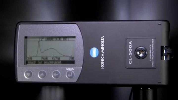 CL-500A Best in Class Illuminance Meter