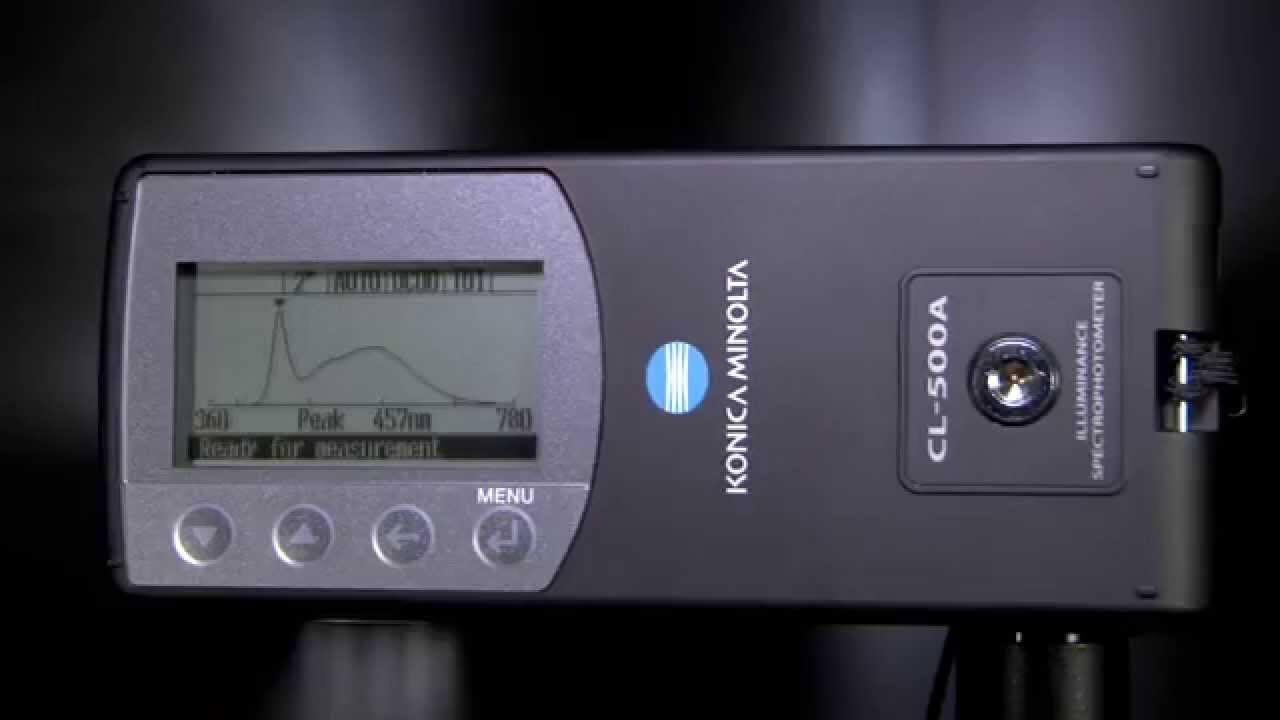 CL-500A Illuminance Spectrophotometer