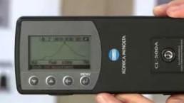 Espectrofotómetro de Iluminancia CL-500A