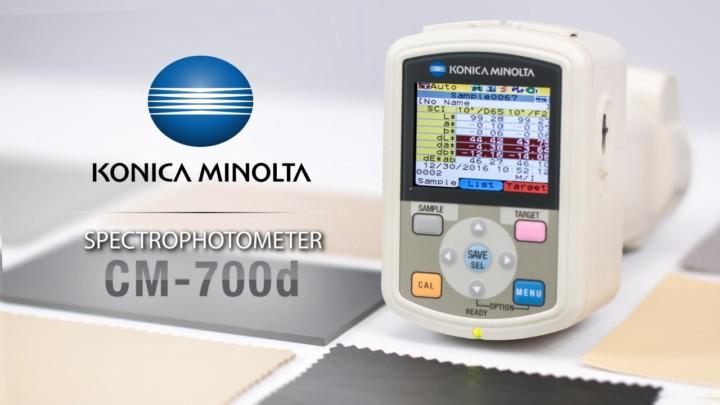 CM-700d Spectrophotometer & Car Interiors