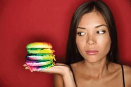 Como el color afecta su percepcion en la comida