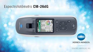 Espectrofotômetro CM-26dG