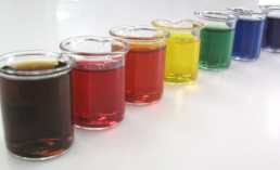 Identifying Food Dyes with Spectrophotometers