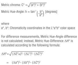 Color Spaces Formula 3