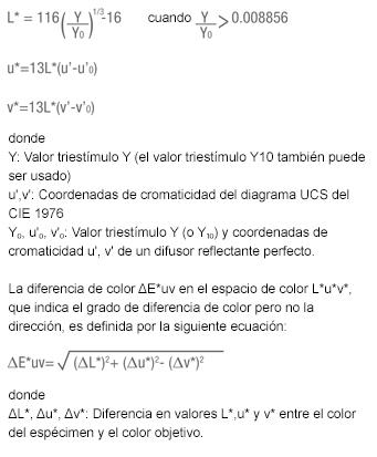 Color Spaces Formula 5