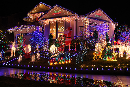Deck the Halls with LED Lights!
