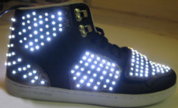 LEDs Help 90s Fad Footwear Make a Cool Comeback