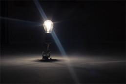 A Luz encontra com a inovação. O futuro das modernas lâmpadas.