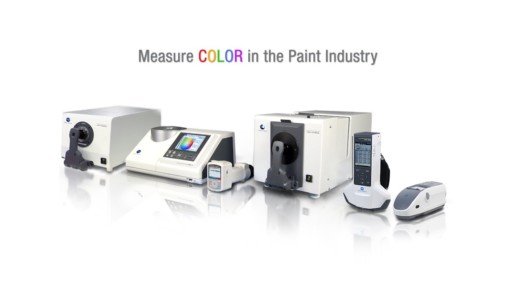 Measure Color in the Paint Industry