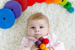 ¿Pueden los bebes reconocer diferentes colores?
