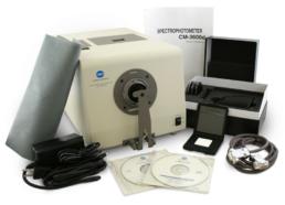 CM-3600d Spectrophotometer