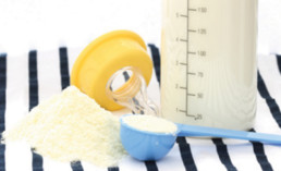 Controle de cor de leite em pó