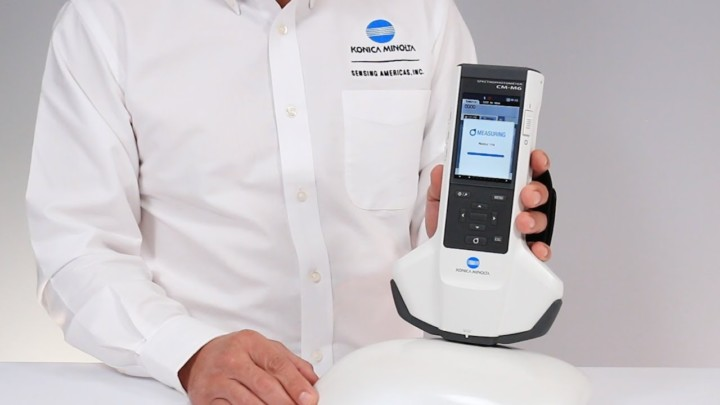 The New Multi-Angle Spectrophotometer CM-M6