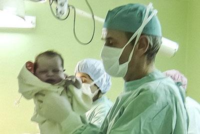 Using Light to Assess Babies' Lungs