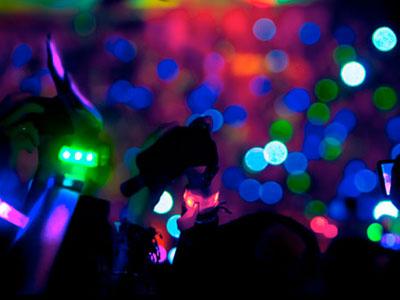 Os LEDs acendem a noite de eventos ao redor do mundo