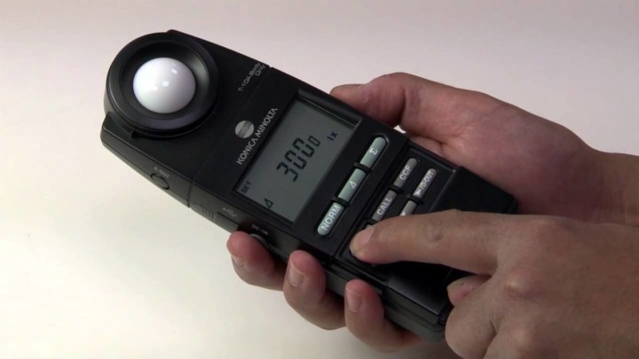 Light Measurement with the T-10A Illuminance Meter