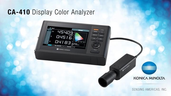 CA-410 for Display Calibration - Konica Minolta Sensing Americas