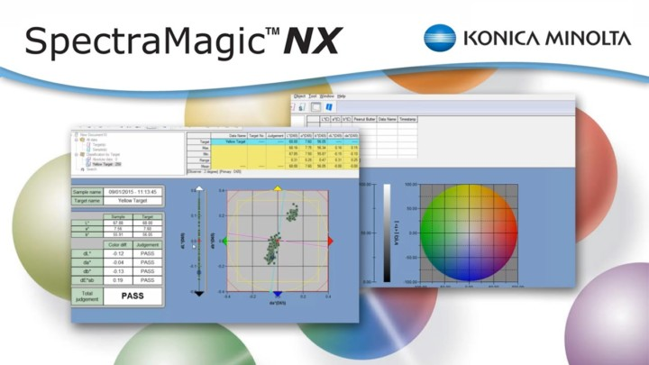 Color Quality Control Software SpectraMagicNX