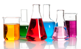 Why spectrophotometers are useful in quantitative color analysis in biochemistry